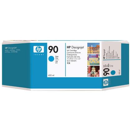 HP 90 C5061A Original Cyan Ink Cartridge High Yield