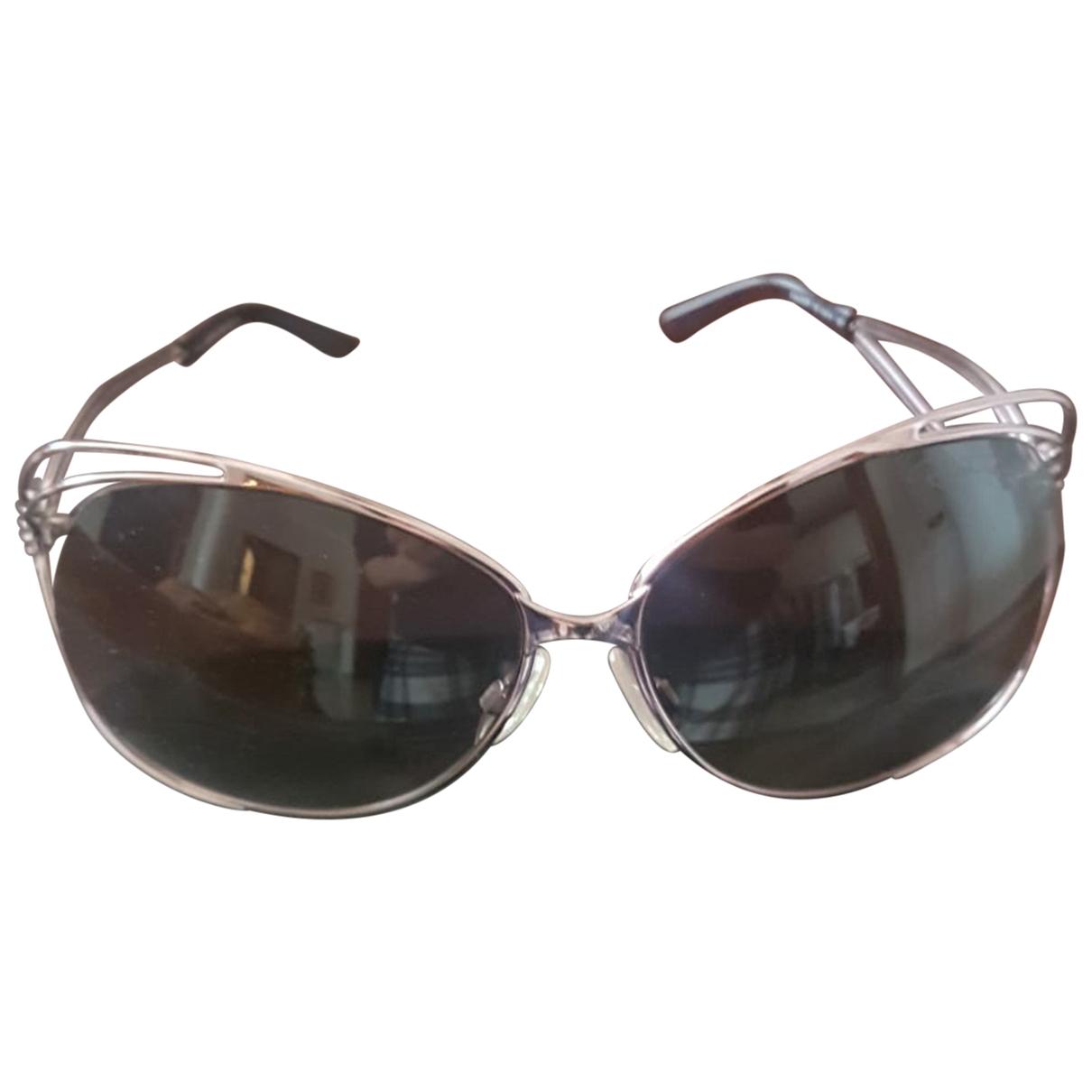 Roberto Cavalli \N Anthracite Metal Sunglasses for Women \N