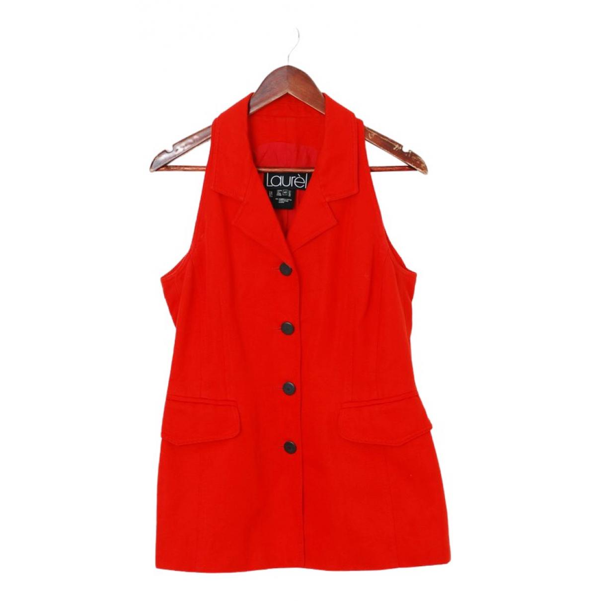 Laurel \N Kleid in  Rot Baumwolle