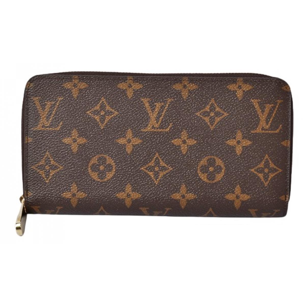Louis Vuitton Zippy White Cloth wallet for Women N