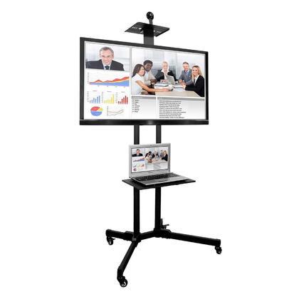 Chariot mobile TV universel avec support pour LCD à DEL Écrans de 37 à 70 PrimeCables®