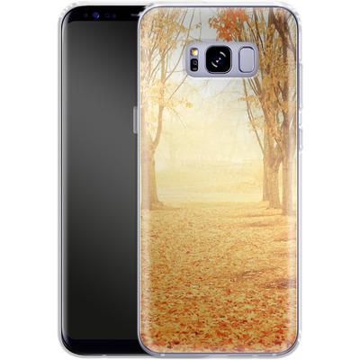 Samsung Galaxy S8 Plus Silikon Handyhuelle - Fog von Joy StClaire