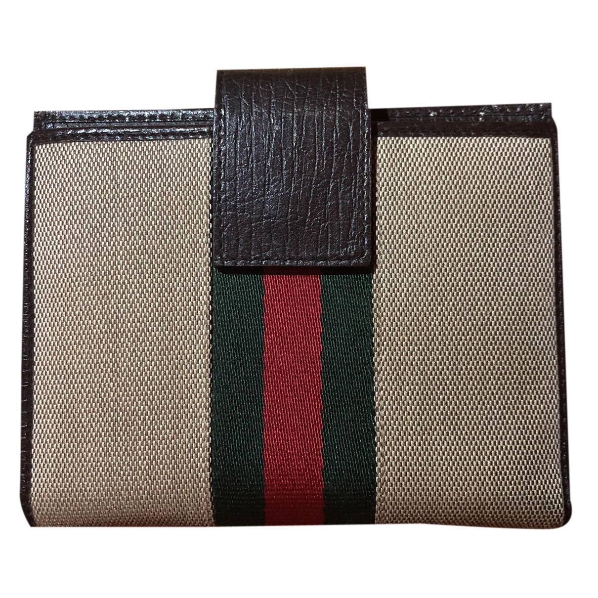 Gucci N Brown Leather Purses, wallet & cases for Women N