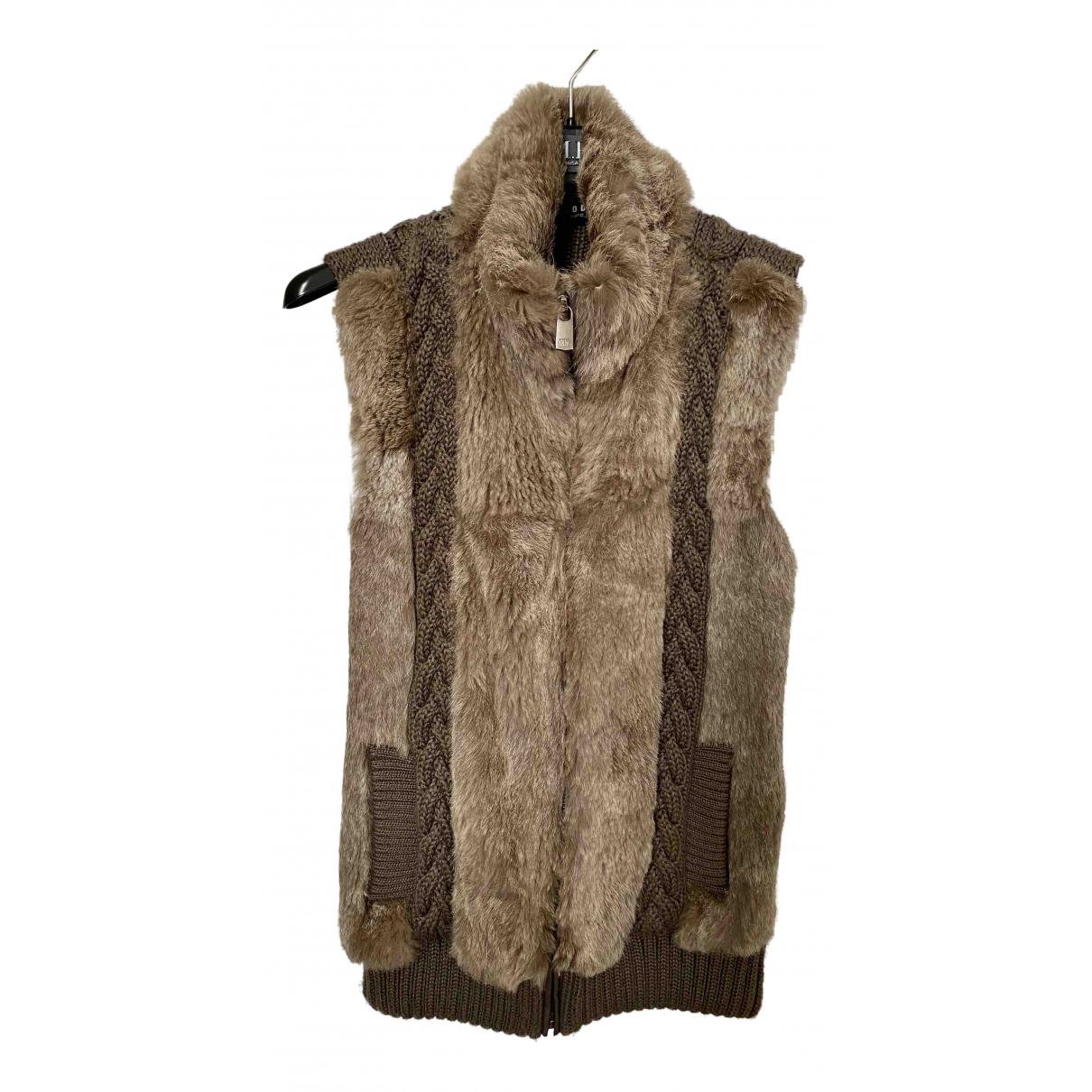 Oakwood N Brown Rabbit Knitwear for Women 36 FR