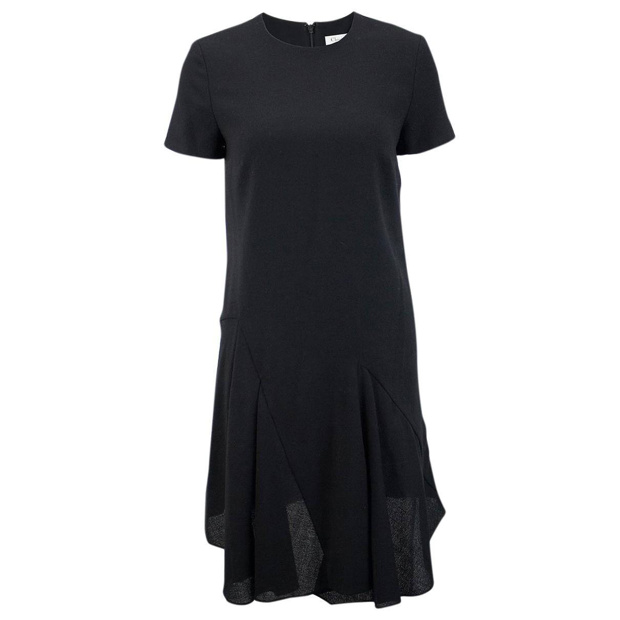 Dior \N Kleid in  Schwarz Wolle