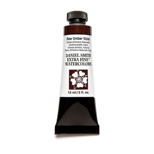 Daniel Smith Extra Fine™ Watercolor, 15 Ml Paint in Raw Umber Violet   Michaels®