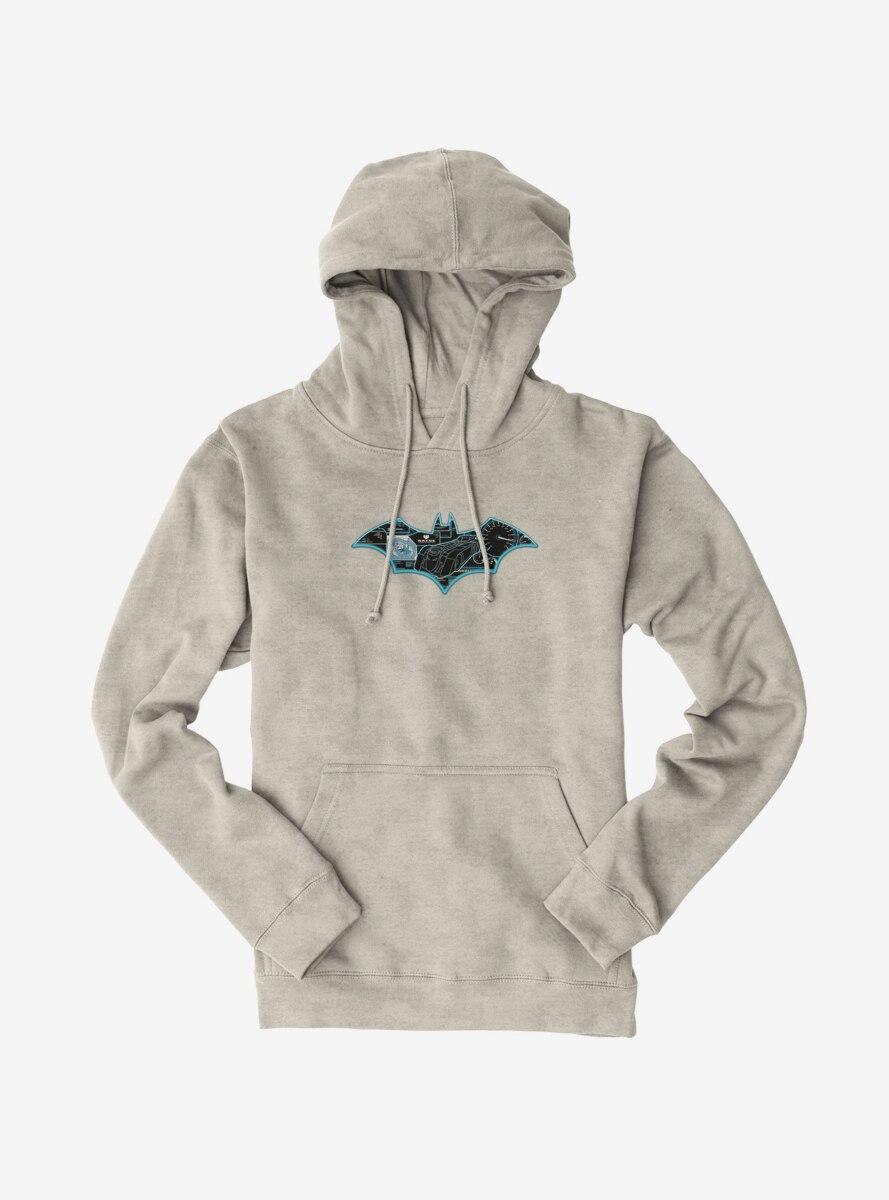 DC Comics Batman Bat Logo Batmobile Specs Hoodie