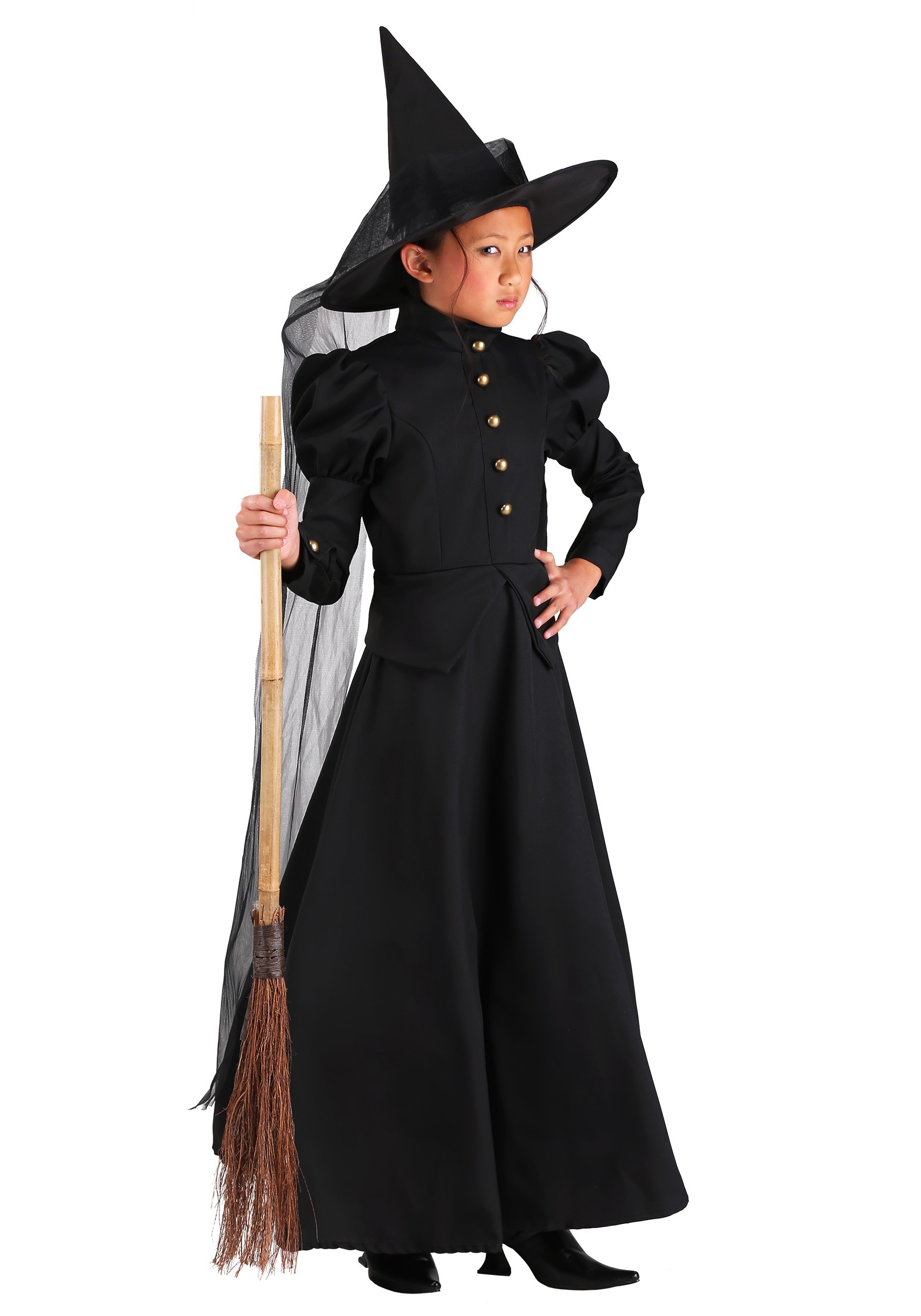 Deluxe Witch Costume for Girls