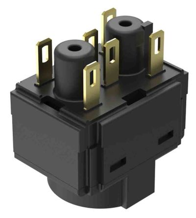 EAO Modular Switch Contact Block for use with Series 61
