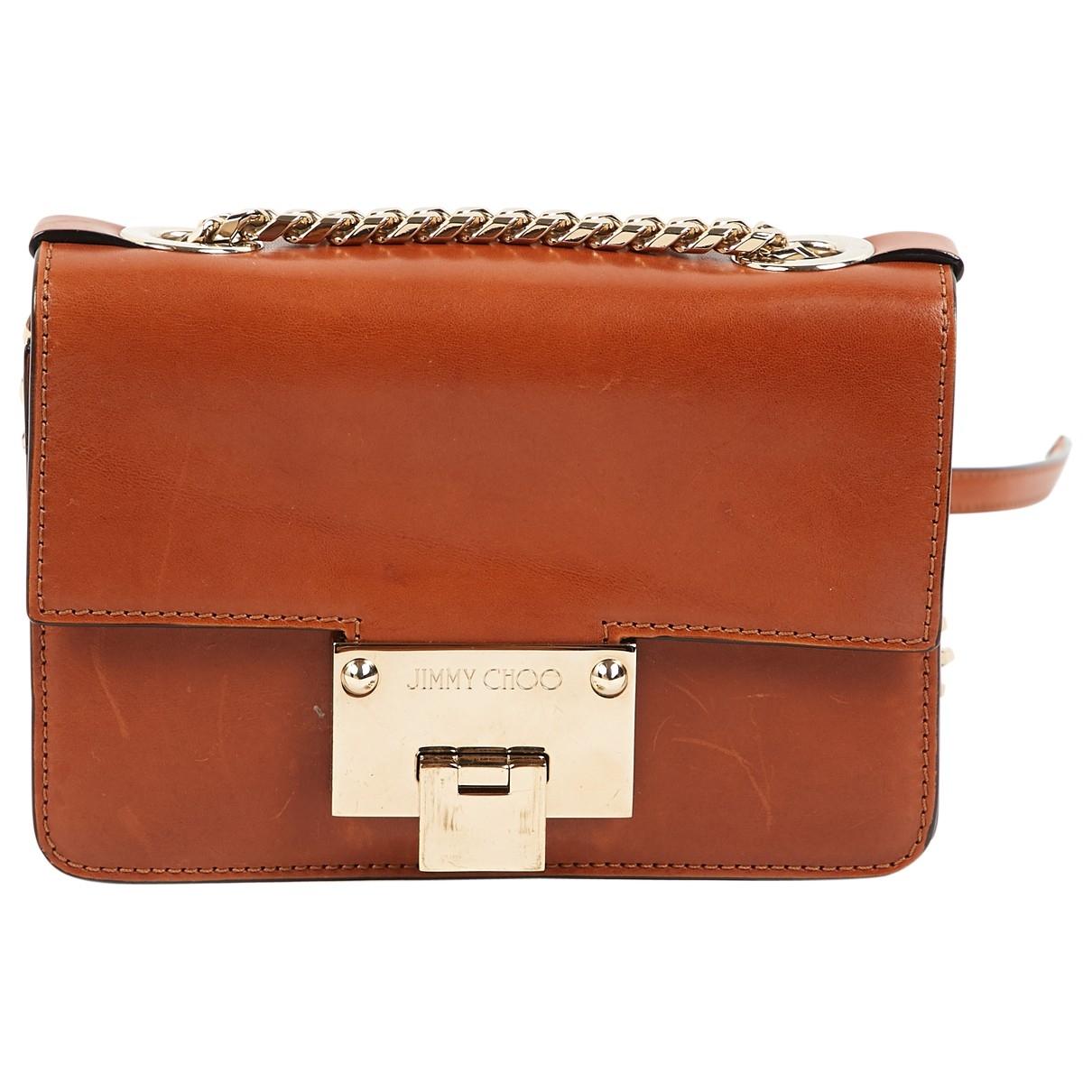 Jimmy Choo \N Camel Leather handbag for Women \N