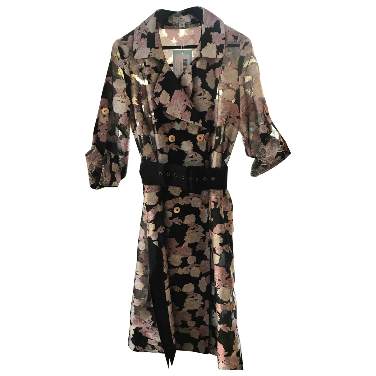 We Are Kindred \N Trench in  Rosa Polyester