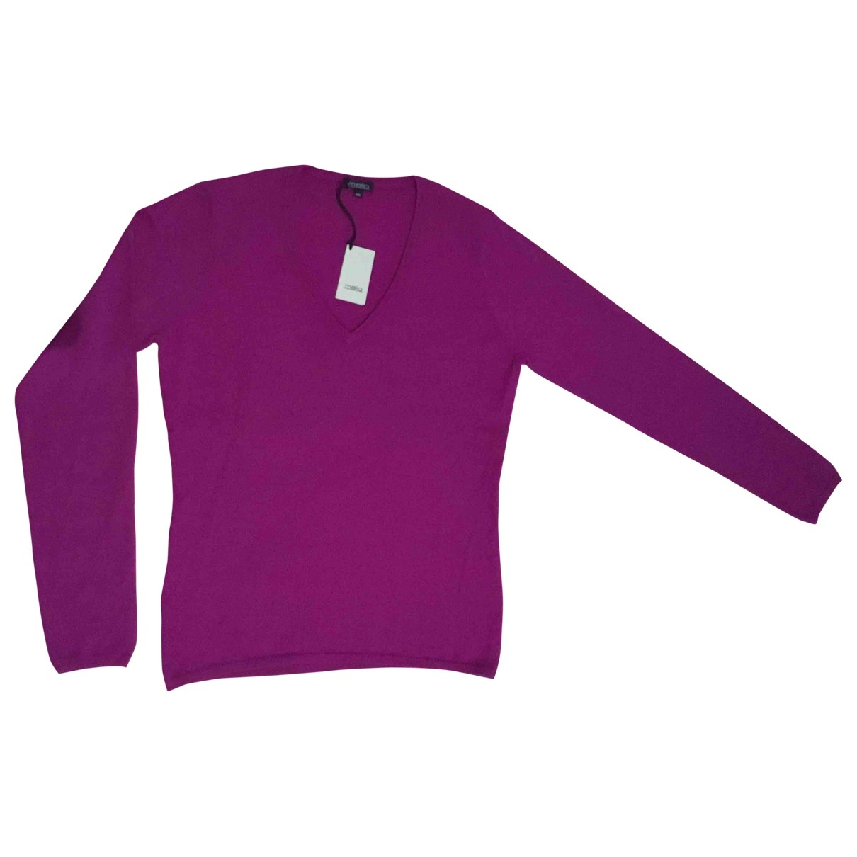Malo \N Purple Cashmere Knitwear for Women 48 IT