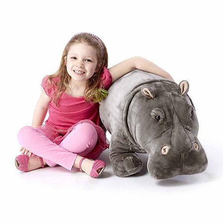 Melissa & Doug Hippopotamus - Plush, One Size , Multiple Colors