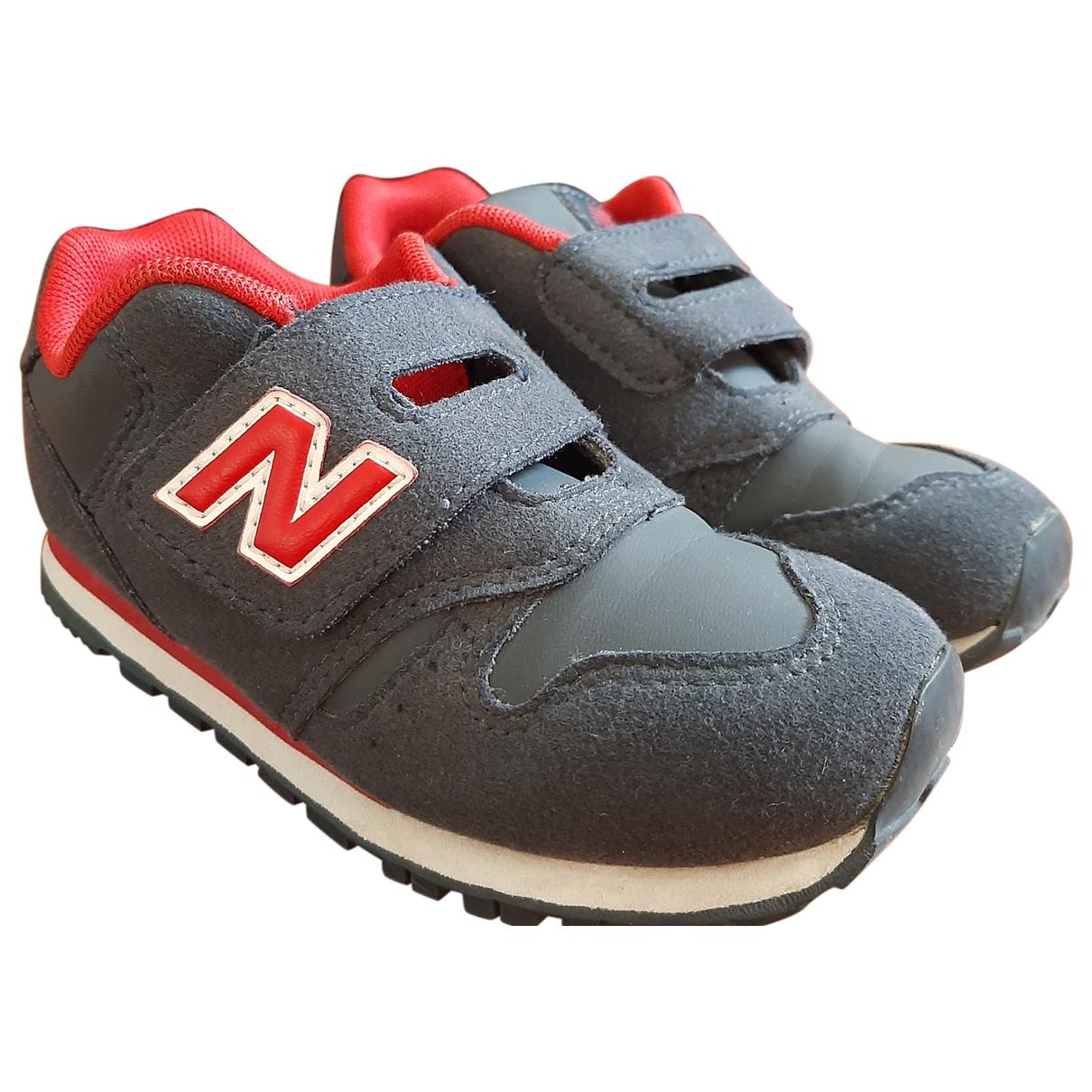 New Balance \N Sneakers in  Blau Veloursleder