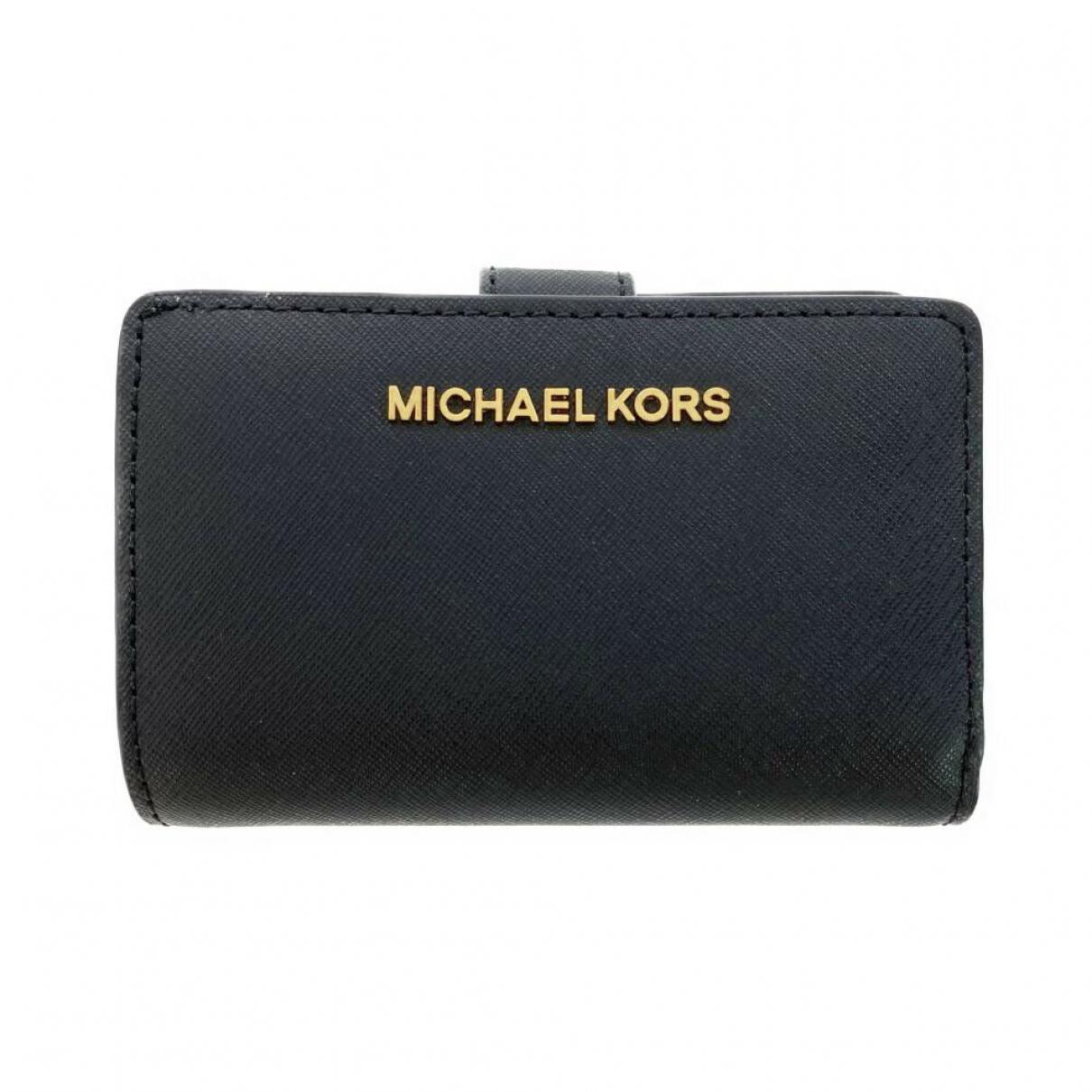 Michael Kors \N Portemonnaie in Leder