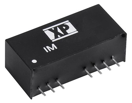 XP Power IM 2W Isolated DC-DC Converter Through Hole, Voltage in 18 → 75 V dc, Voltage out ±15V dc