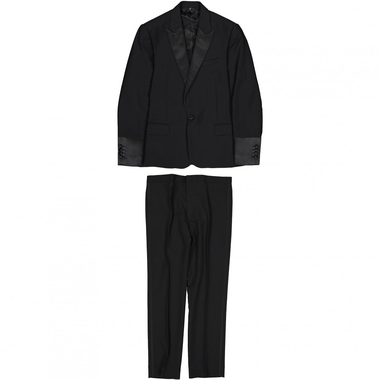 Dior - Costumes   pour homme en laine - noir