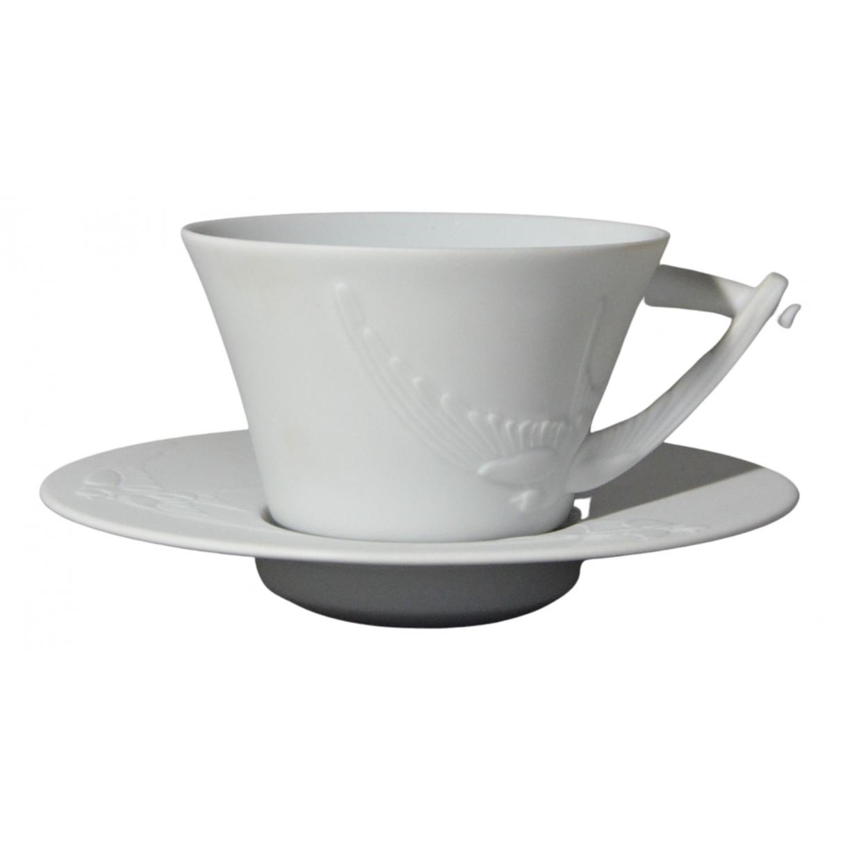 Lalique - Arts de la table   pour lifestyle en ceramique - blanc