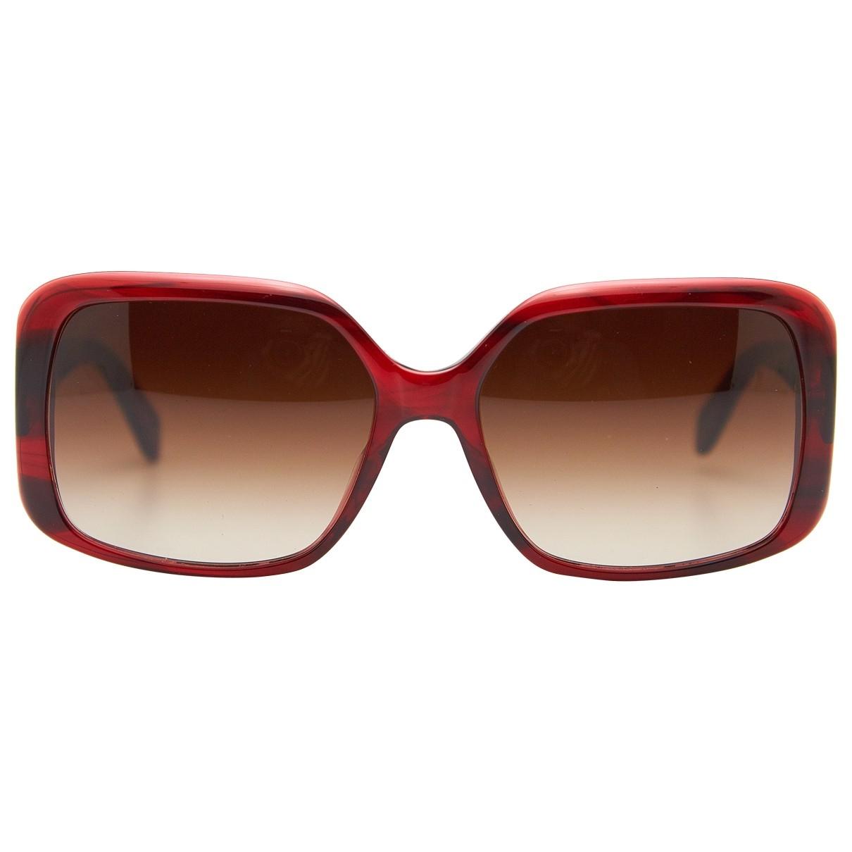 Oliver Peoples - Lunettes   pour femme en metal - rouge
