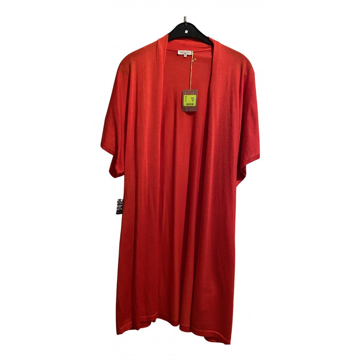 Etro N Red Wool Knitwear for Women 42 IT