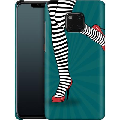 Huawei Mate 20 Pro Smartphone Huelle - Stripy Tights von Mark Ashkenazi