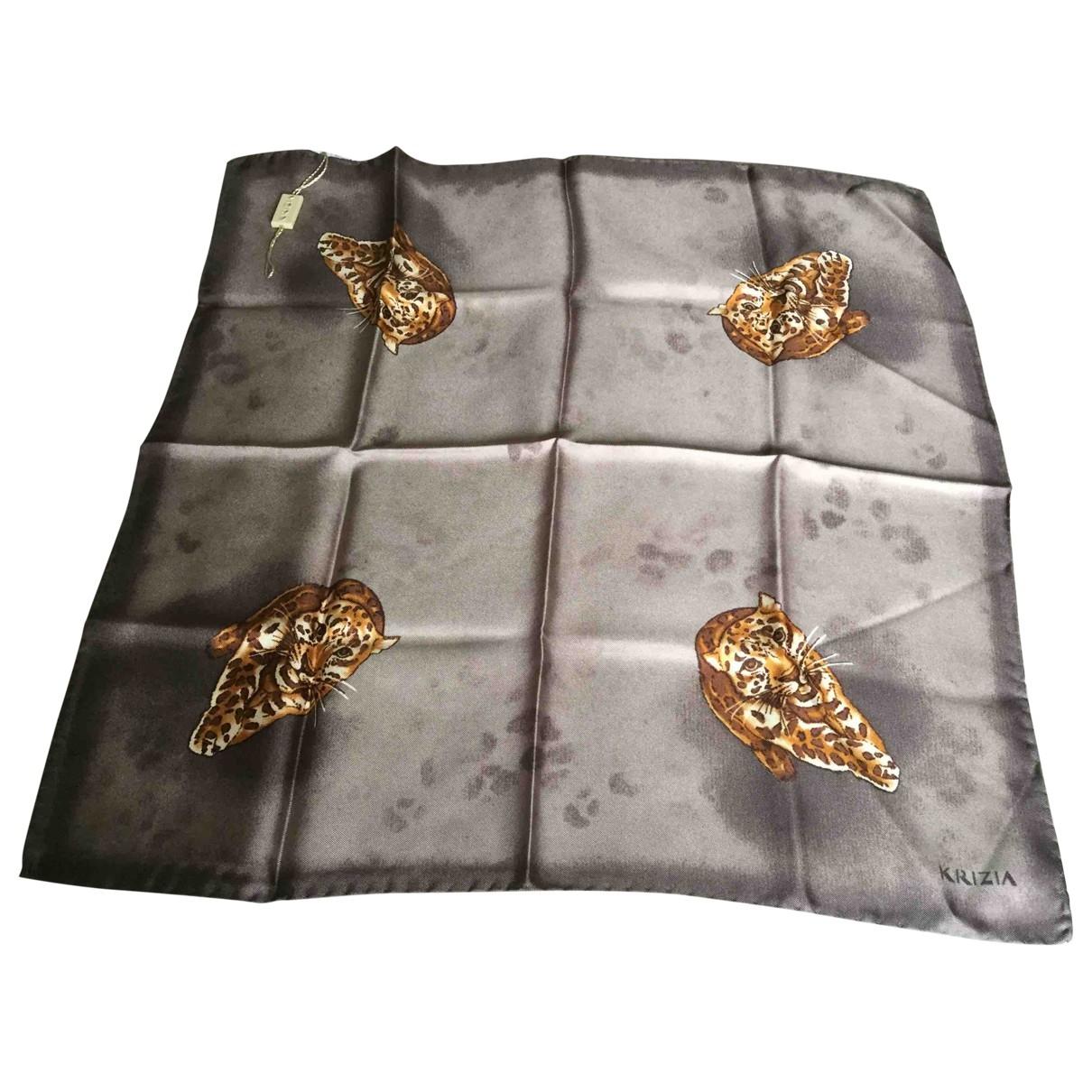 Krizia \N Silk scarf for Women \N