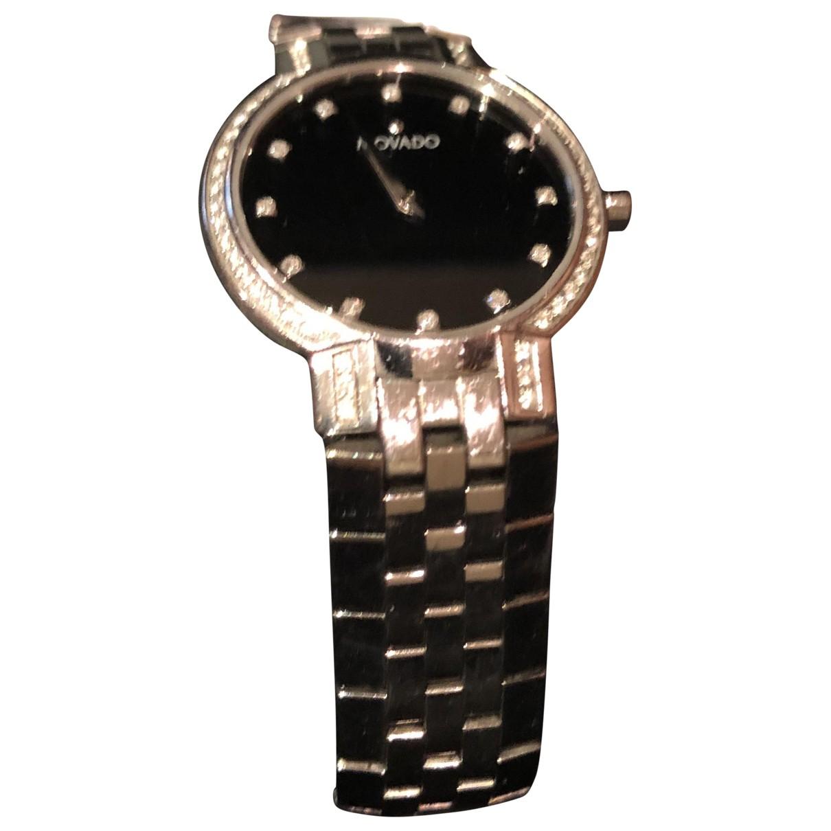 Movado \N Uhr in  Schwarz Stahl