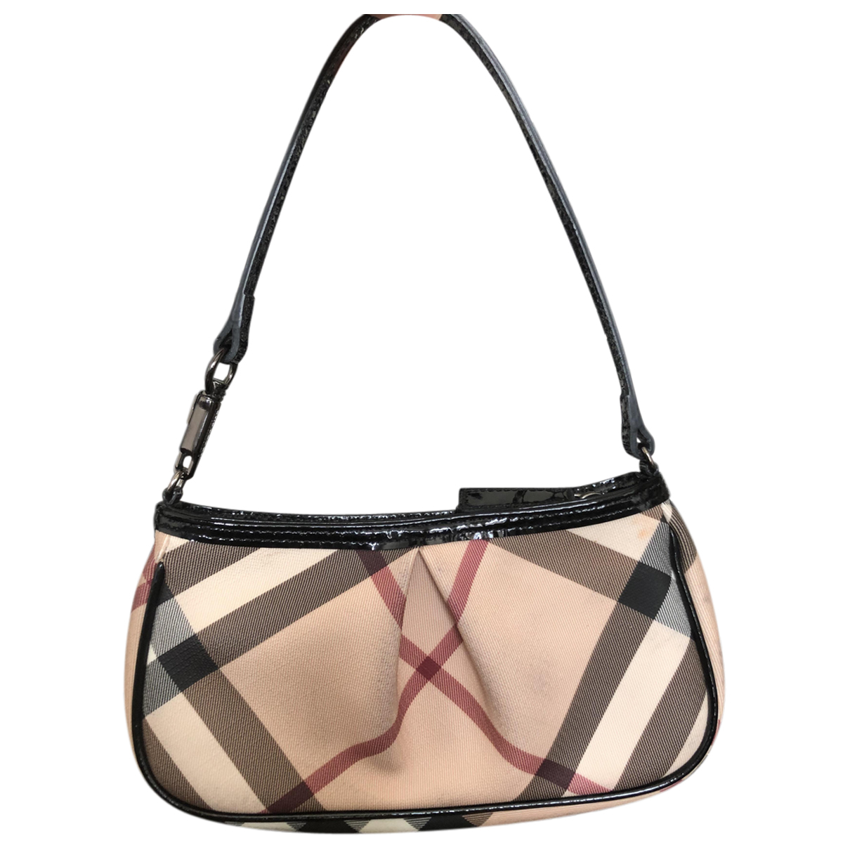 Burberry N Beige Cloth handbag for Women N