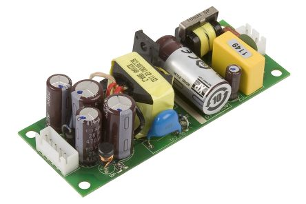 XP Power , 30W AC-DC Converter, 5 V dc, ±12 V dc, Open Frame