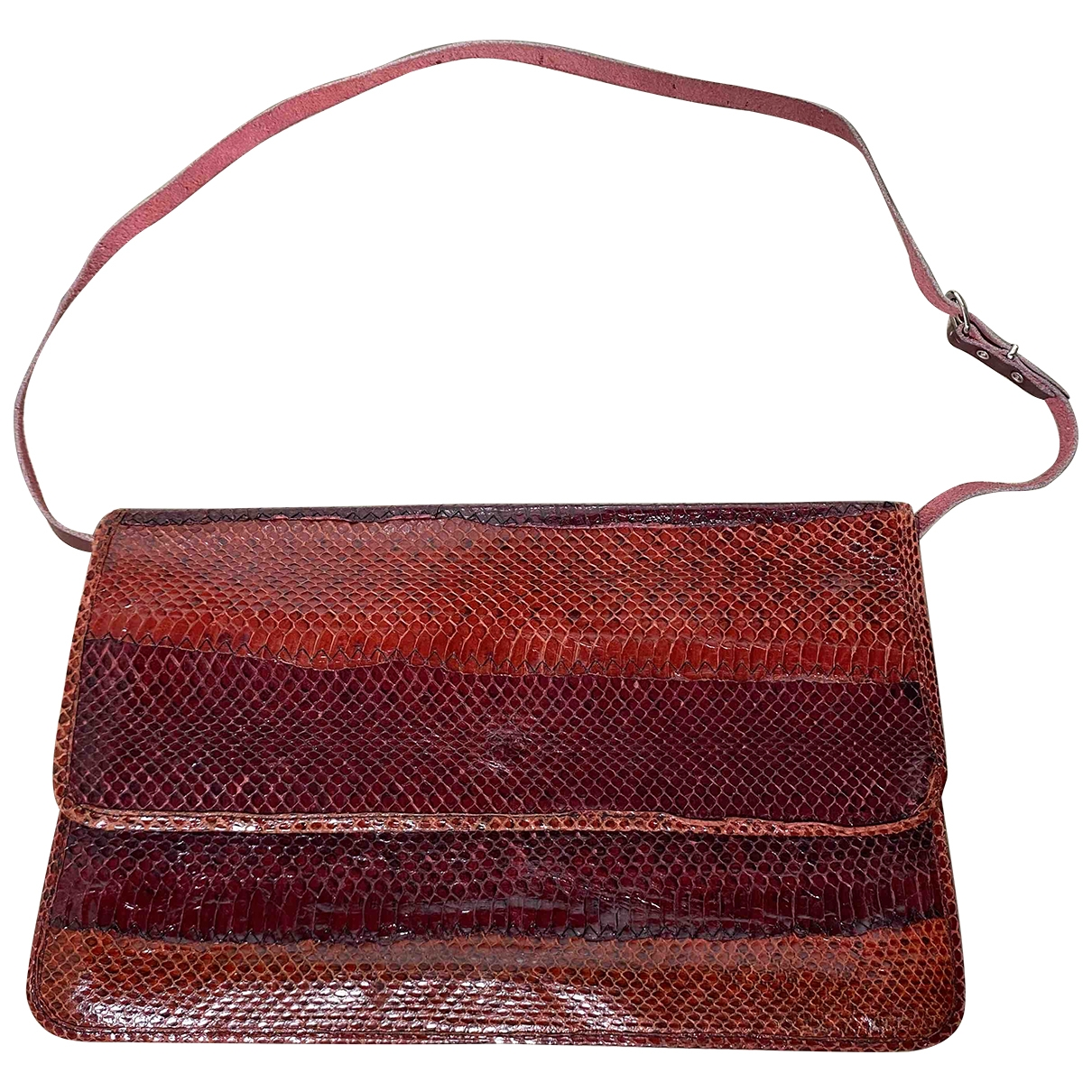 Non Signe / Unsigned \N Clutch in  Rot Python
