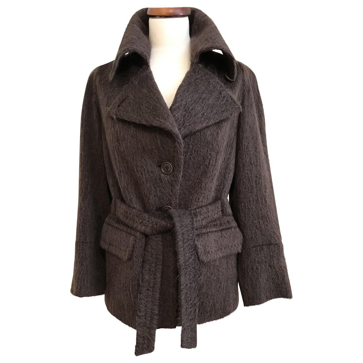 Max Mara \N Brown Wool jacket for Women 42 IT