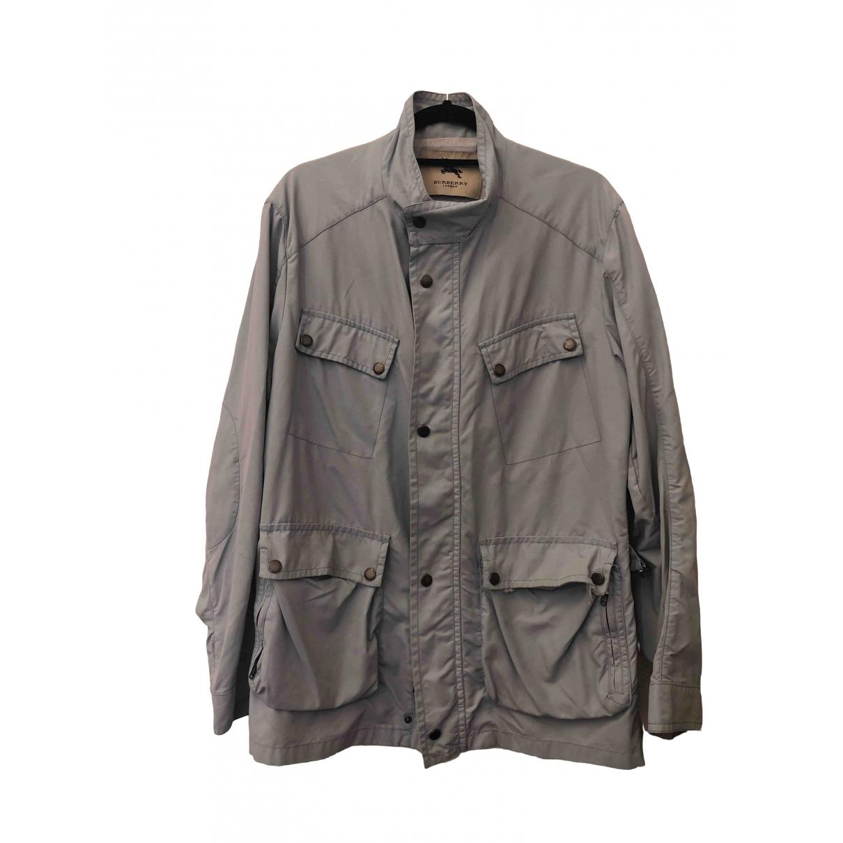 Burberry \N Blue jacket  for Men XL International