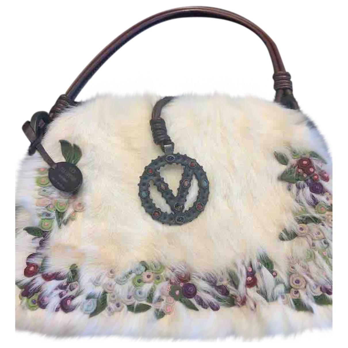 Vanessa Bruno Athe - Pochette   pour femme en lapin - blanc
