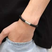 Men Braided Bracelet