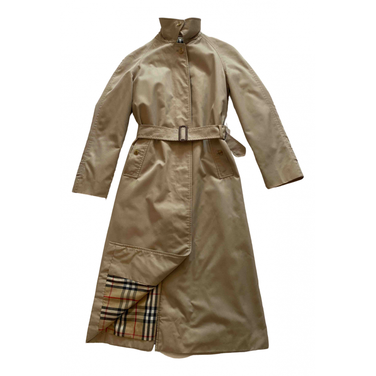 Burberry - Trench   pour femme - beige