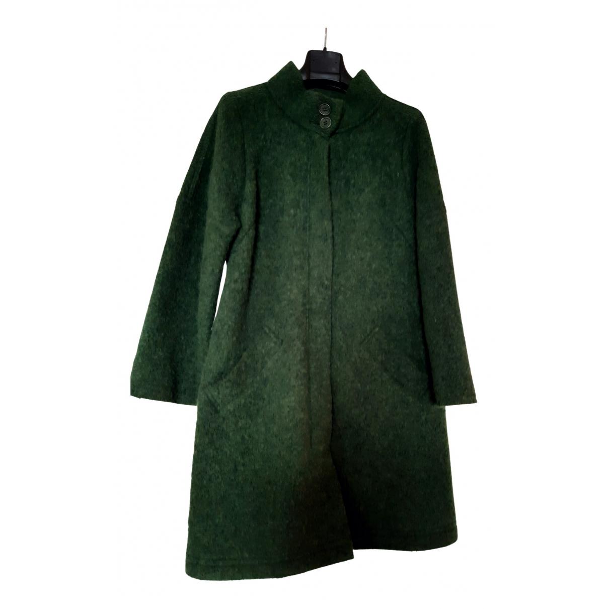 Aspesi N Green Wool coat for Women 44 IT