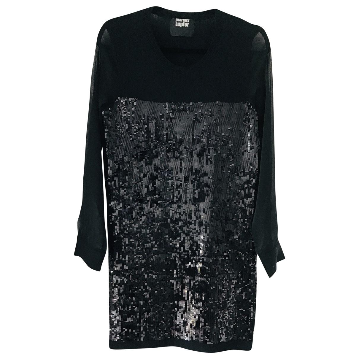 Markus Lupfer - Robe   pour femme en laine - noir