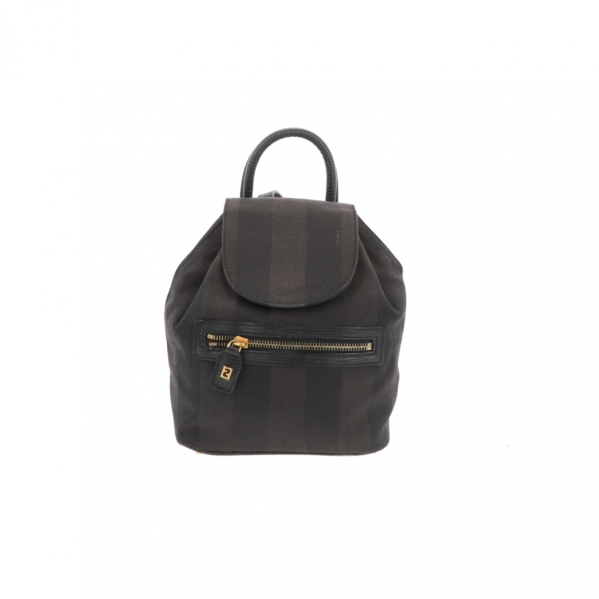 Fendi \N Black Cloth backpack for Women \N