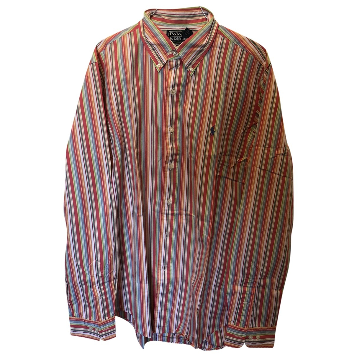 Polo Ralph Lauren Polo ajuste manches longues Hemden in Baumwolle