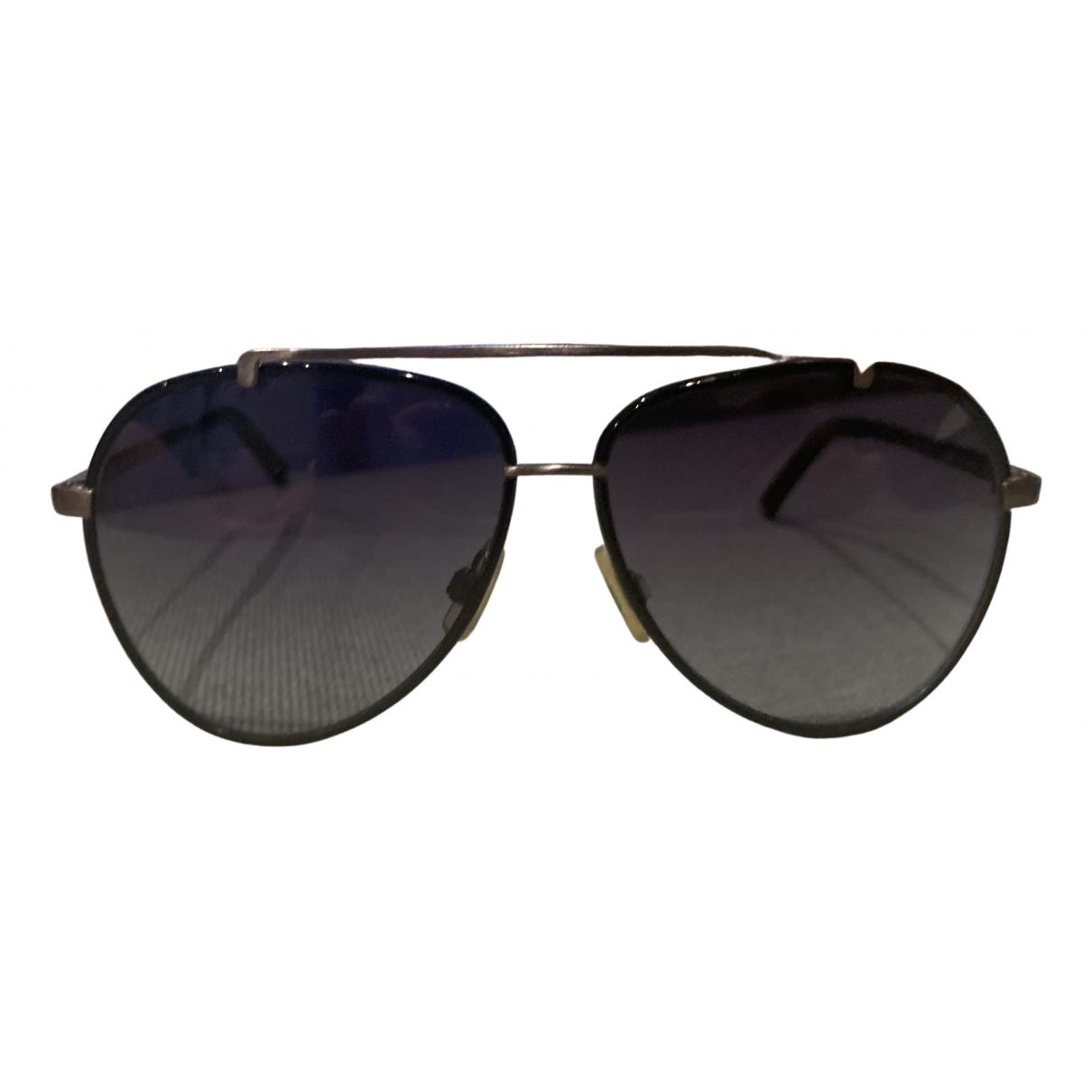 Dsquared2 \N Black Metal Sunglasses for Women \N