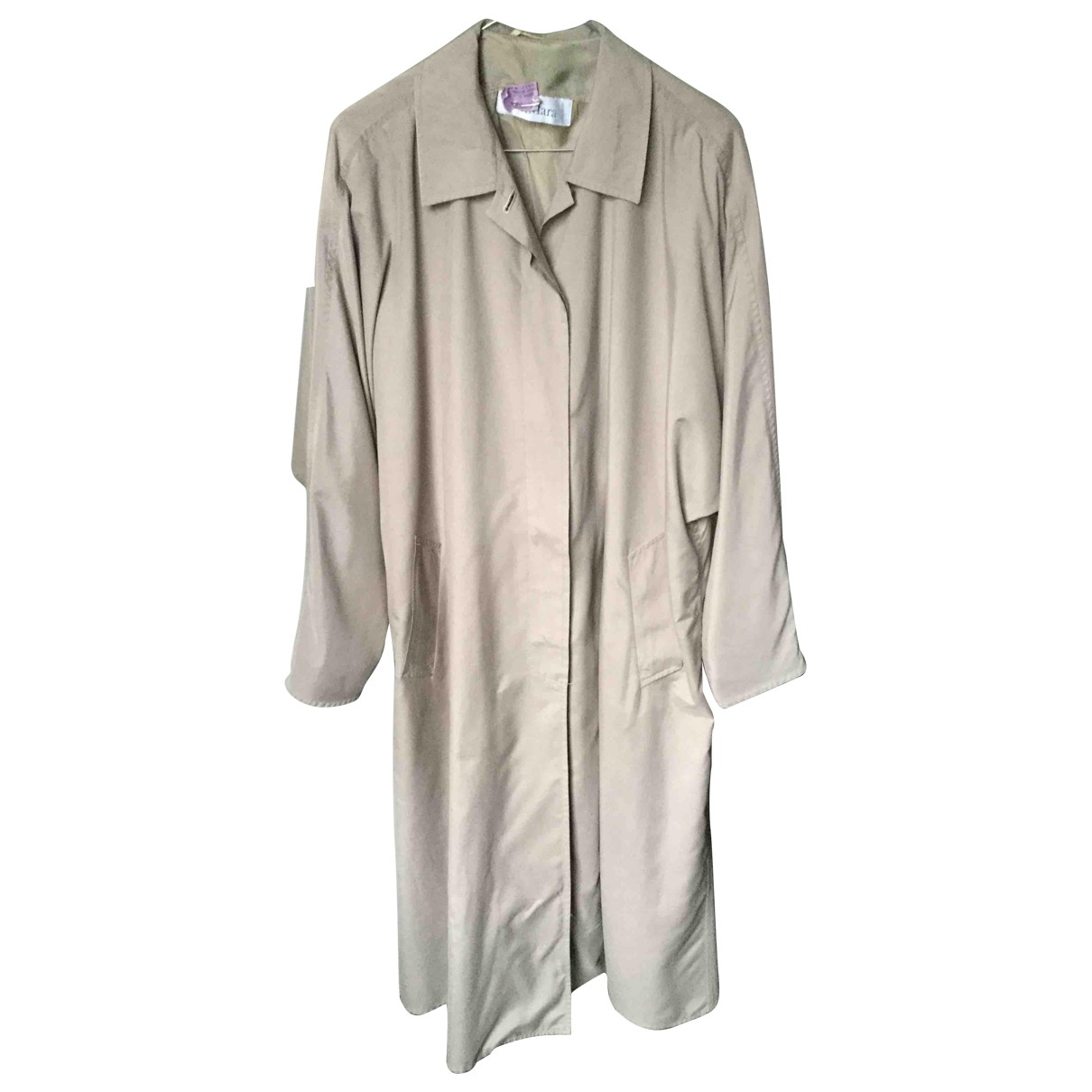 Max Mara \N Trench in  Kamel Polyester