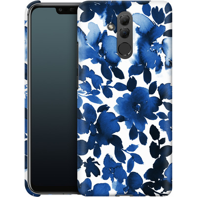 Huawei Mate 20 Lite Smartphone Huelle - Sophia Blue Floral von Amy Sia