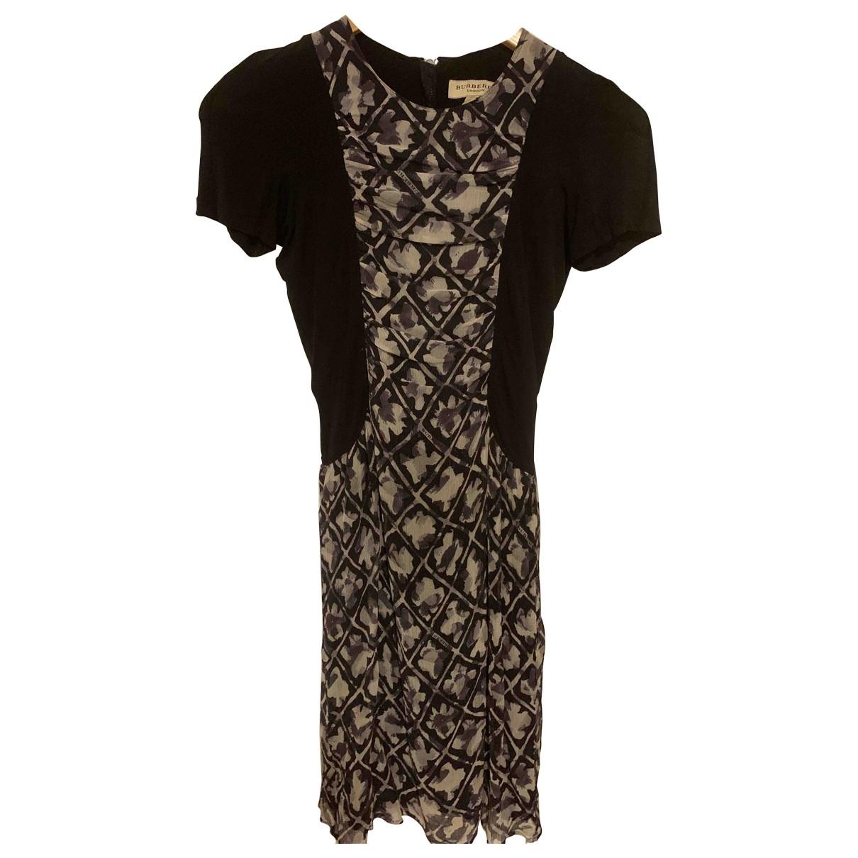 Burberry - Robe   pour femme - noir