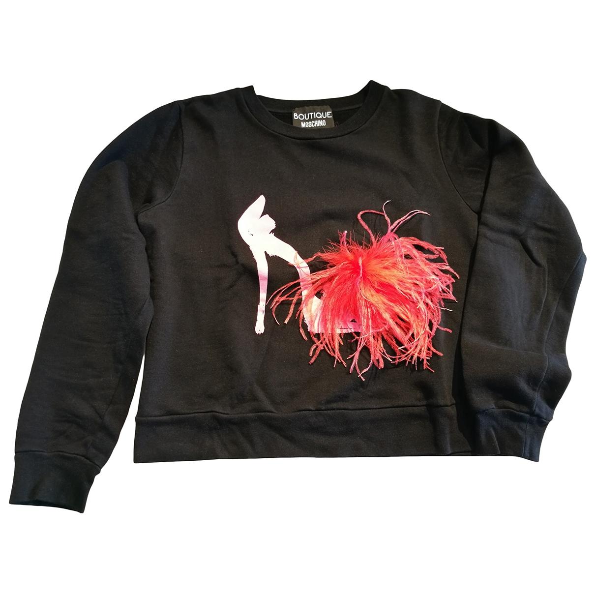 Moschino \N Black Cotton Knitwear for Women 44 IT