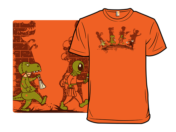 Trick Or Terror T Shirt