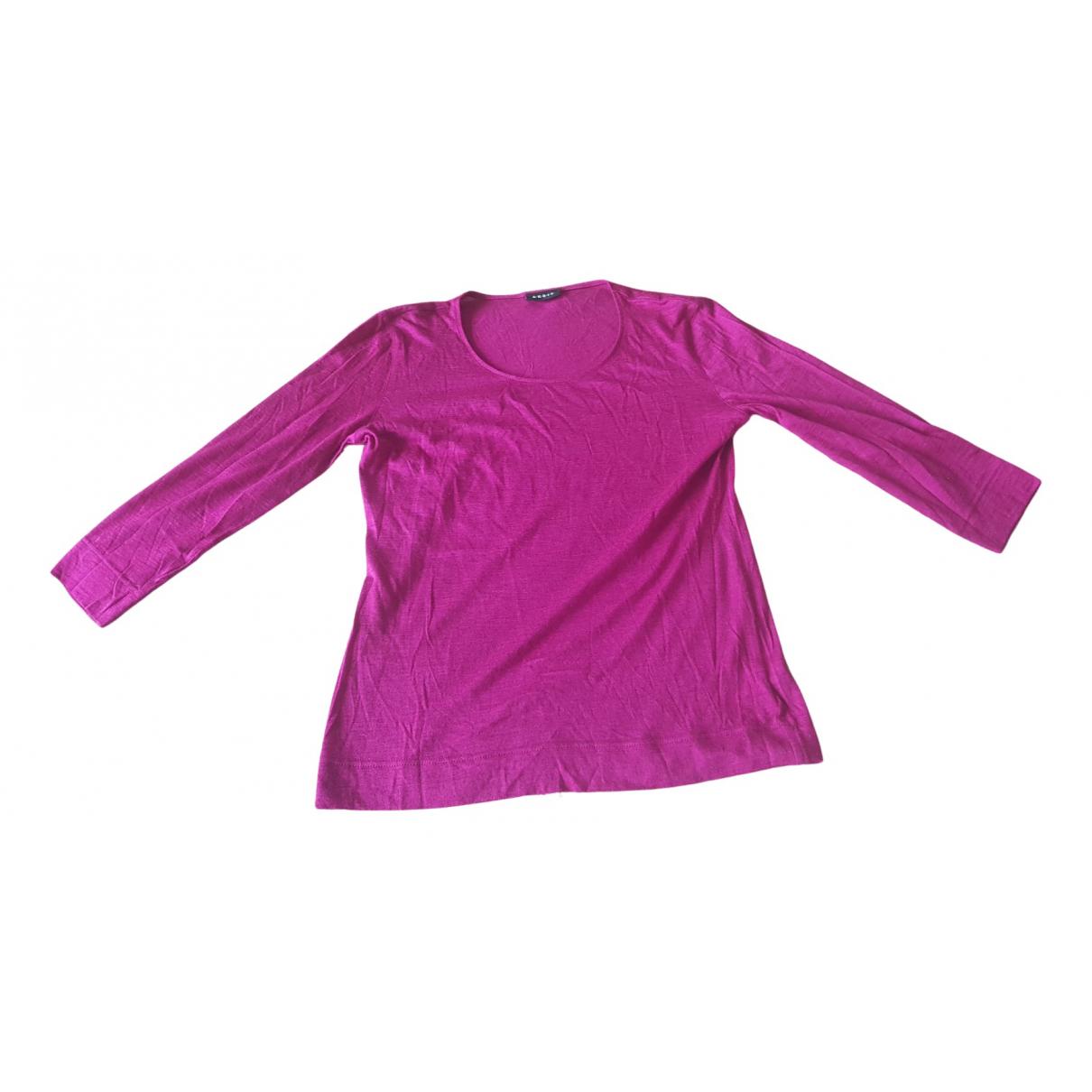 Akris - Pull   pour femme en cachemire - rose