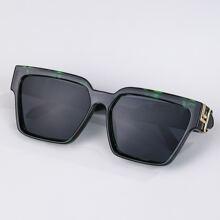 Maenner Sonnenbrille mit Rahmen aus Acryl