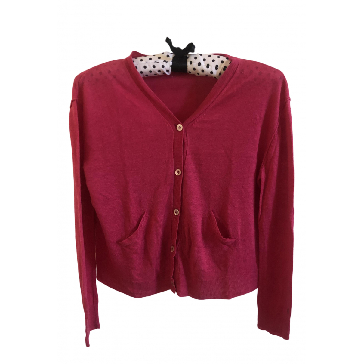 Bonpoint - Pull   pour enfant en coton - rose