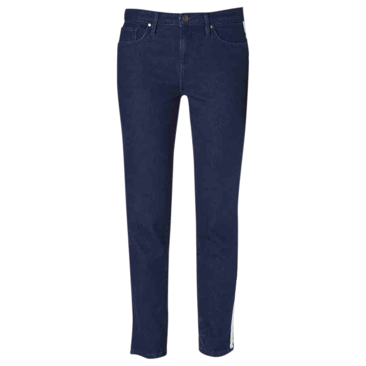 Tommy Hilfiger \N Blue Cotton - elasthane Jeans for Women 34 US