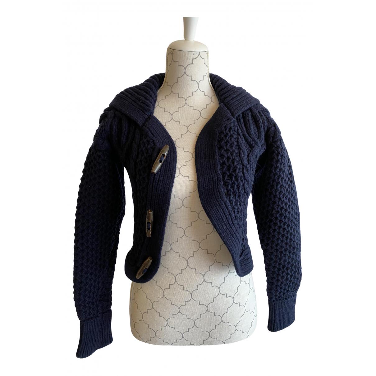 Dsquared2 - Pull   pour femme en laine - bleu